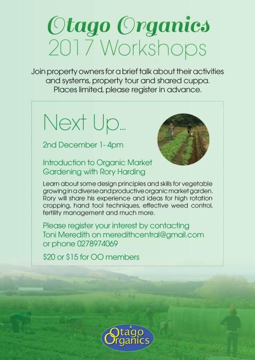 Otago Organics - Rory Harding